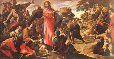 Giovanni Lanfranco, Milagro de los panes y los peces