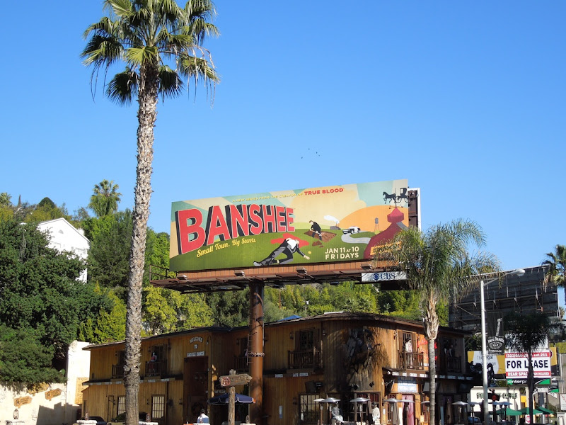 Banshee season 1 billboard Sunset Boulevard