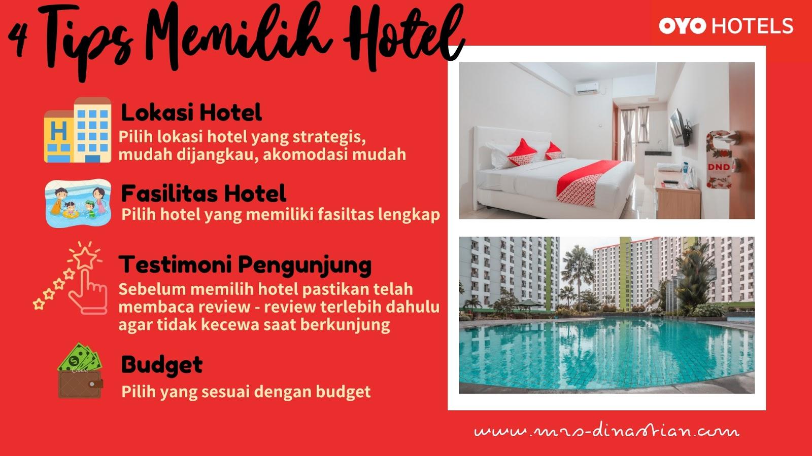 Tips Memilih Hotel