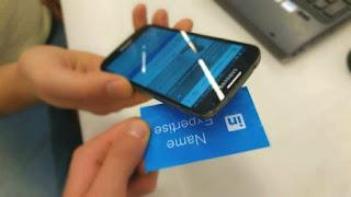 NFC-s névjegy