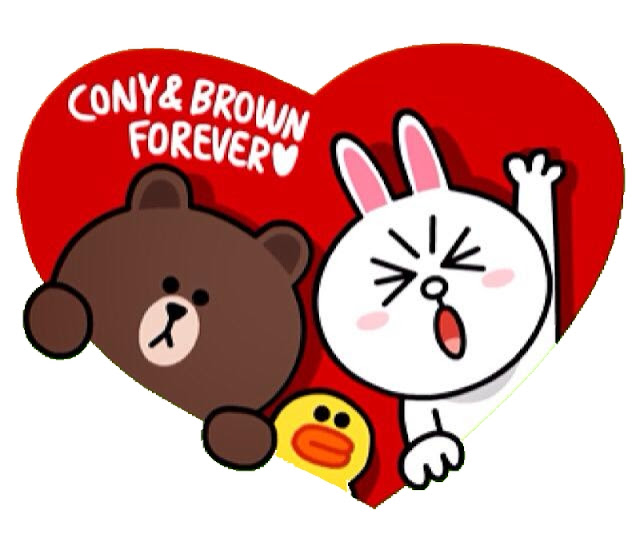 LINE Cony and Brown