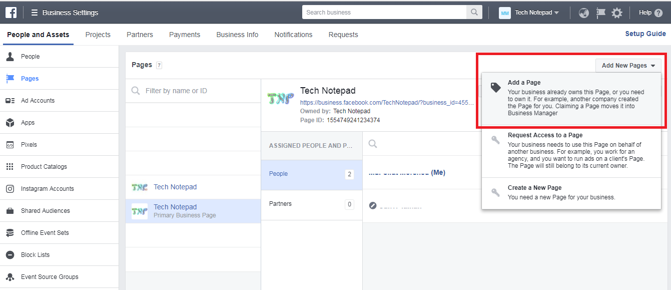 how to add other admins to a facebook page