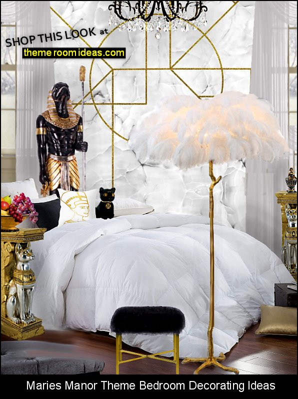 egyptian bedroom romantic glam style modern egyptian theme bedroom decorating ideas