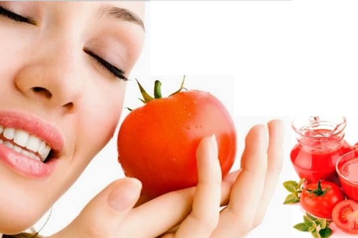 Để có làn da mịn màng thu nhỏ lỗ chân lông bằng cà chua có hiệu quả?