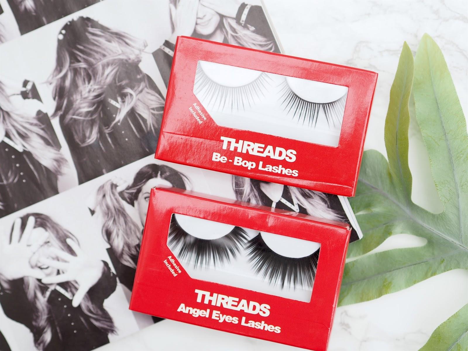 Threads Beauty Angel Eye and Be-Bop False Lashes