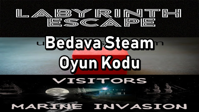 3 Tane Bedava Steam Oyun Kodu