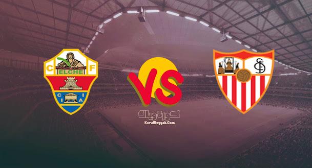 نتيجة مباراة ألتشي واشبيلية اليوم 28 أغسطس 2021 في الدوري الاسباني