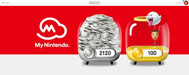 My Nintendo Point Box rewards program platinum gold coins points Boo balloon Mii