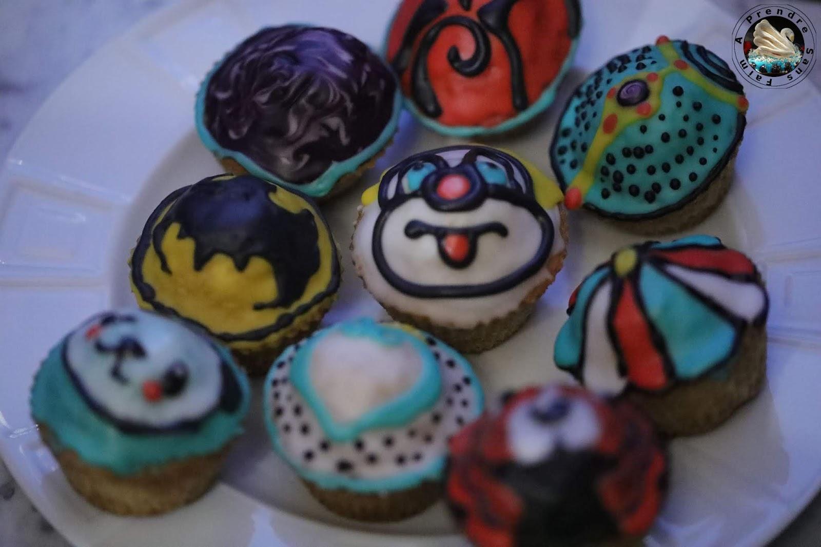 Cupcakes aux graines de pavot et citron