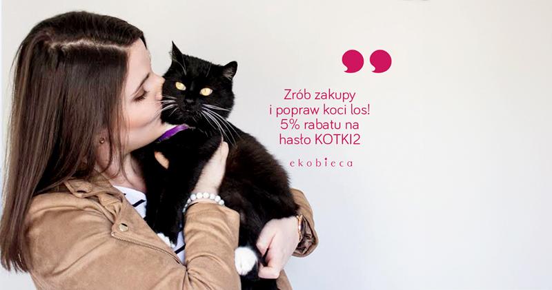Pomóż nam pomagać - zrób zakupy w ekobieca.pl i popraw koci los ♥