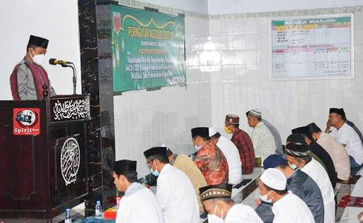 Kasrem 141/Toddopuli, Menghadiri Giat Peringatan Malam Nuzulul Qur'an