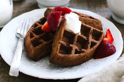 Belgian Chocolate Waffles Recipe