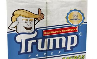 """En México se venderá el papel higiénico marca """"Trump"""""""