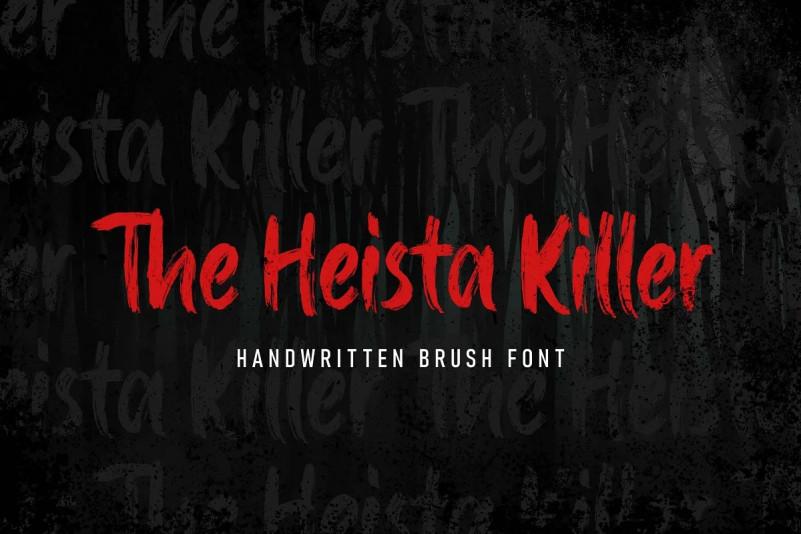 The Heista Killer Font