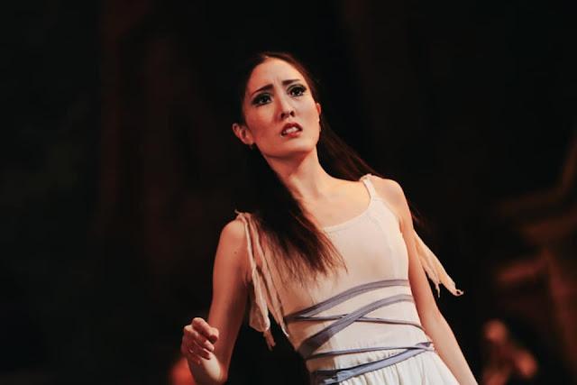 Марина Накадзима в роли Эсмеральды, Самарский театр оперы и балета