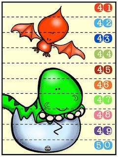 Rompecabezas-dinosaurios-conteo-números