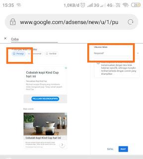 Cara membuat Iklan Link pada Adsense Terbaru