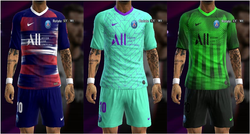 PES 2013 PSG Fantasy Kit Pack