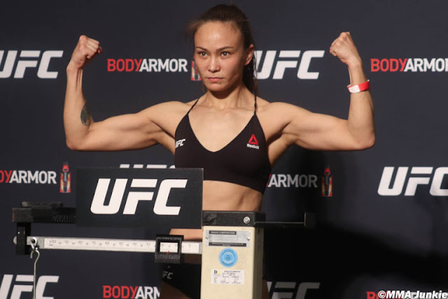 Michelle Waterson UFC 249 Weigh In