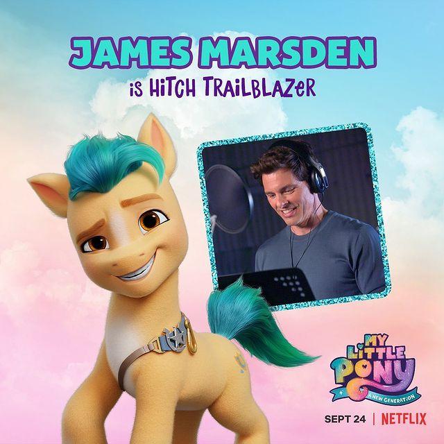 Hitch Trailblazer My Little Pony - A New Generation James Marsden