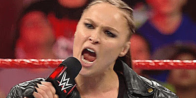 Ronda Rousey And Cain Velasquez At WWE HQ Today (Photo)
