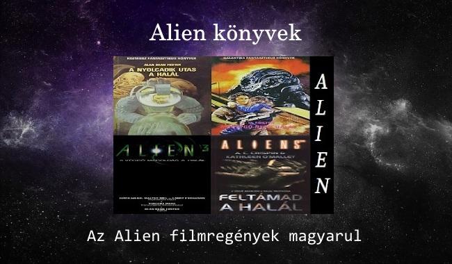 Alien könyvek – Az Alien filmregények magyarul