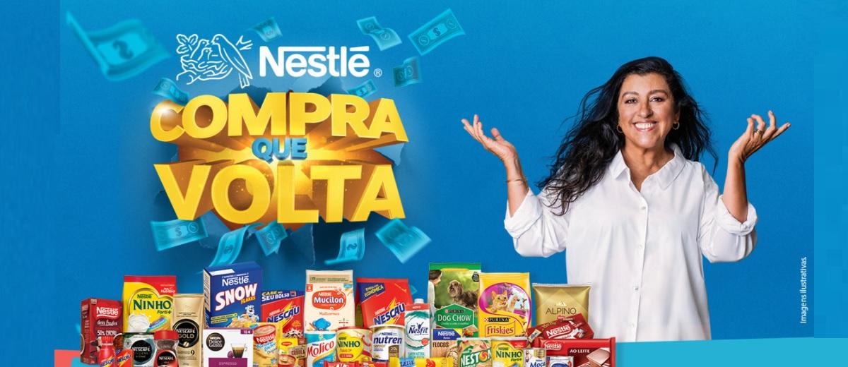 Promoção Nestlé 2021 Compra Que Volta