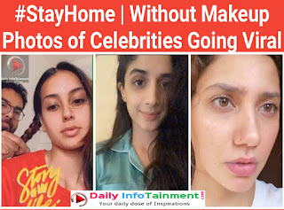 Beauty Parlor Closed | Without Makeup Photos of Celebrities Going Viral