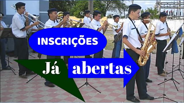 Prefeitura de Cariré reativará a banda de música municipal; as inscrições já estão abertas na sede da Secretaria da Cultura