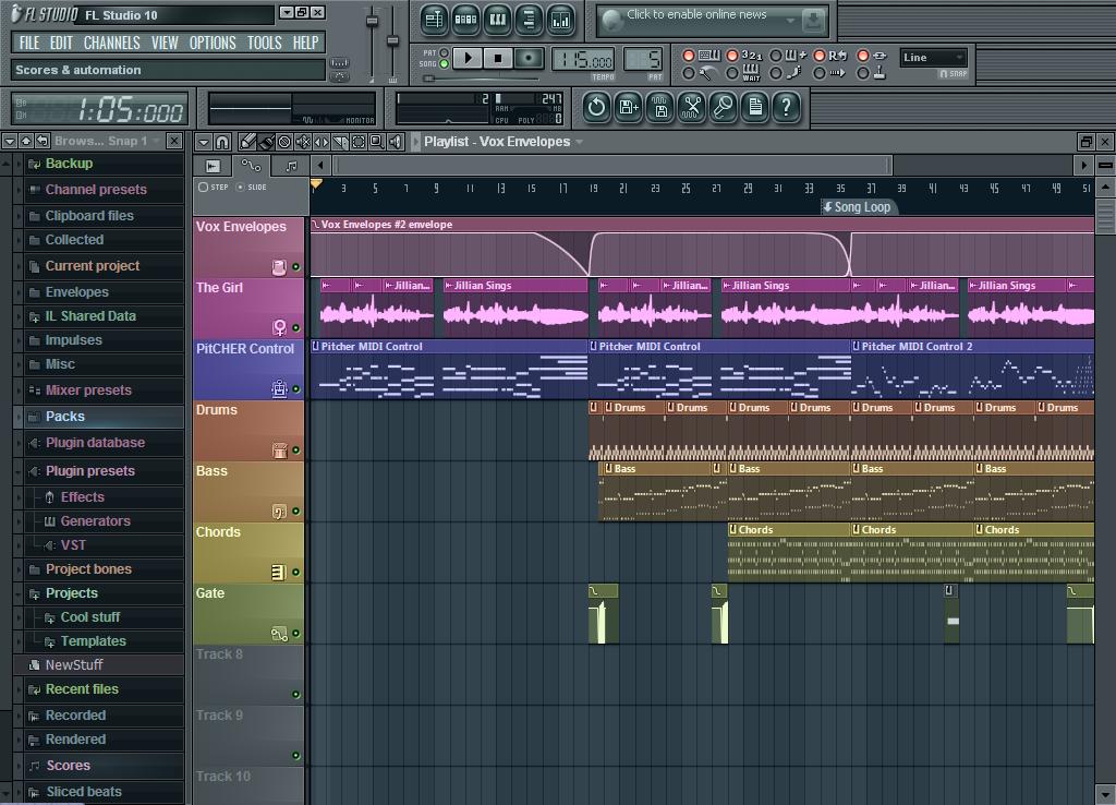 تحميل برنامج fl studio 10 كامل مجانا