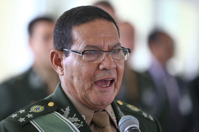 General Mourão manda recado aos ministros do STF: Aceitem as críticas