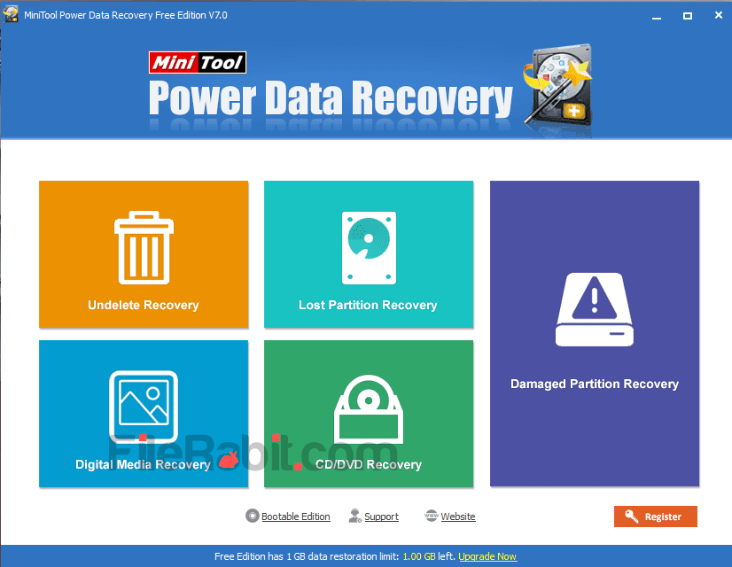 Power Data Recovery Screenshot 1
