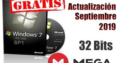 descargar w7 ultimate 32 bits español iso
