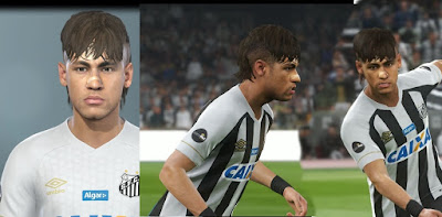 PES 2019 Faces Neymar Jr by MictlanTheGod