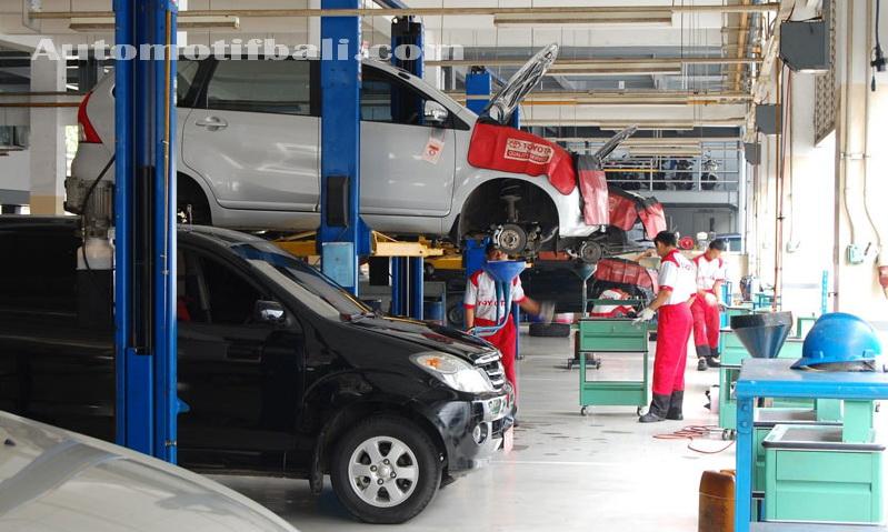 Bengkel Toyota di Bali