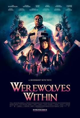 Werewolves Within 2021 DVD Custom HD NTSC Latino