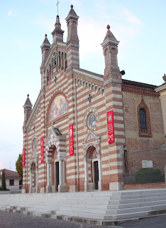 The Basilica of San Dalmazio in Carra's home village of Quargnento