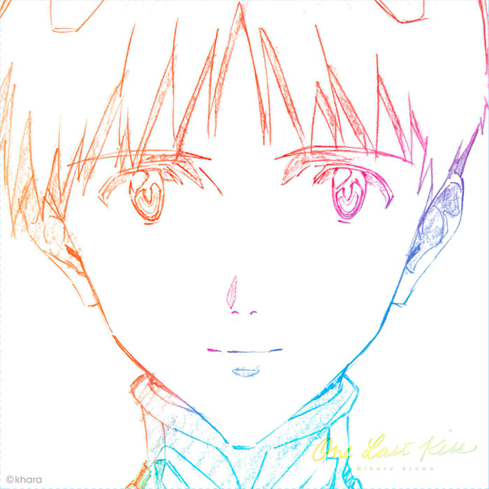 Hikaru Utada - One Last Kiss CD - Evangelion: Thrice Upon A Time