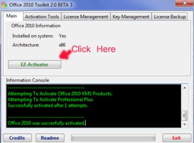 Crack Office 2010 Professional Plus Thành Công 100% [Miễn Phí]