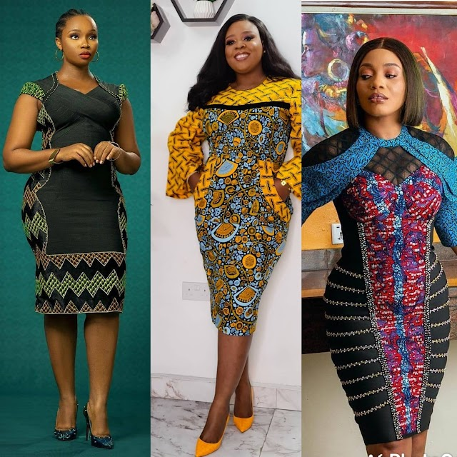 African Dresses for Women To Slay in 2021: Hot African Print Dresses.