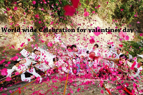 Worldwide Celebrations of Valentines Day