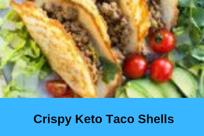 Crispy Keto Taco Shells