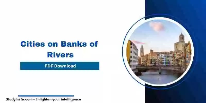 List of Cities on Banks of Rivers [PDF]