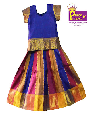 South India Pattu Pavadai Ethnic wear