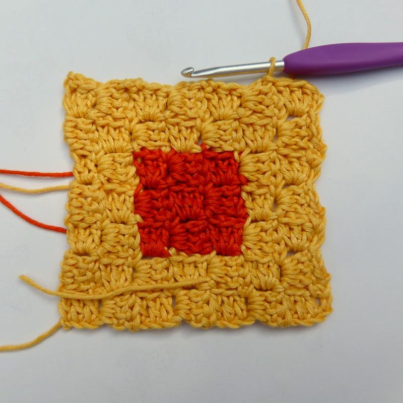 Corner To Corner Haken Patroon.Bit Of Color Van Hoek Tot Hoek Haken Tutorial 2