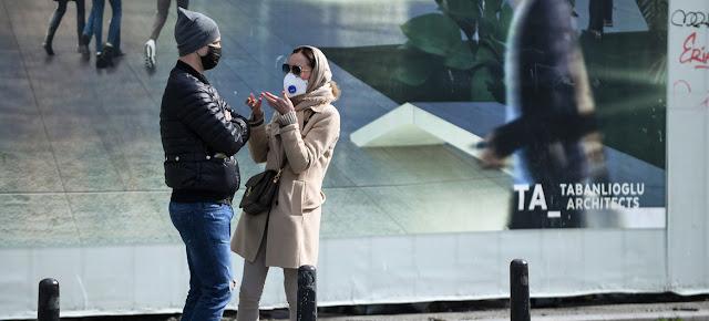 Una escena cotidiana de la pandemia en el barrio de Beyoglu en la ciudad de Estambul.PNUD/Levent Kulu