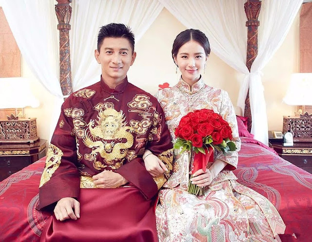 traditional Chinese wedding attire Cecilia Liu Shishi Nicky Wu