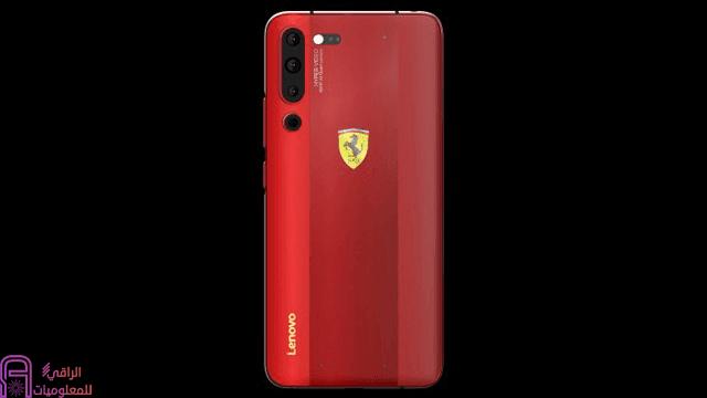 نُسخة فيراري من هاتف Lenovo Z6 Pro تظهر على الانترنت