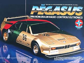 Pegasus estrela controle remoto brinquedo anos 80