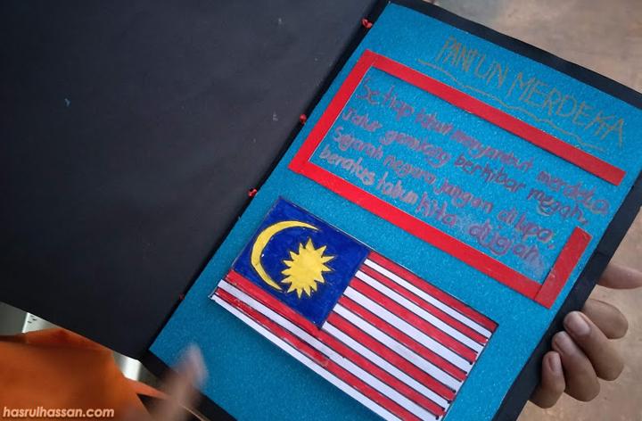 Buku Skrap Sayangi Malaysiaku Sempena Hari Merdeka 2018